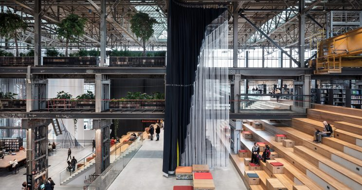 The LocHal in Tilburg  '2019's World Building of the Year'